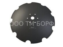 Диск на БДМ 560*6 46 6*13,5*120 mm 30 MnB5 TM BORF SCALLOP (ромашка)